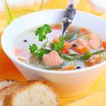 Второй этап. Рыбный суп.