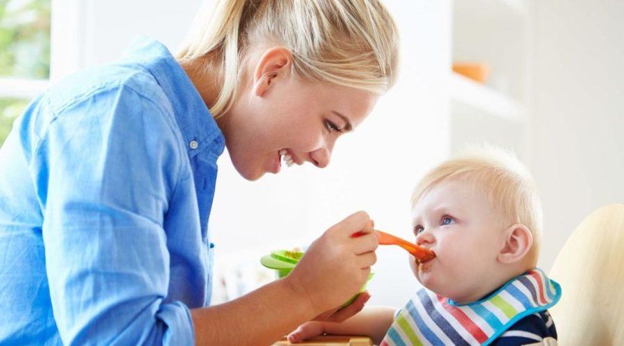 питание ребёнка до года