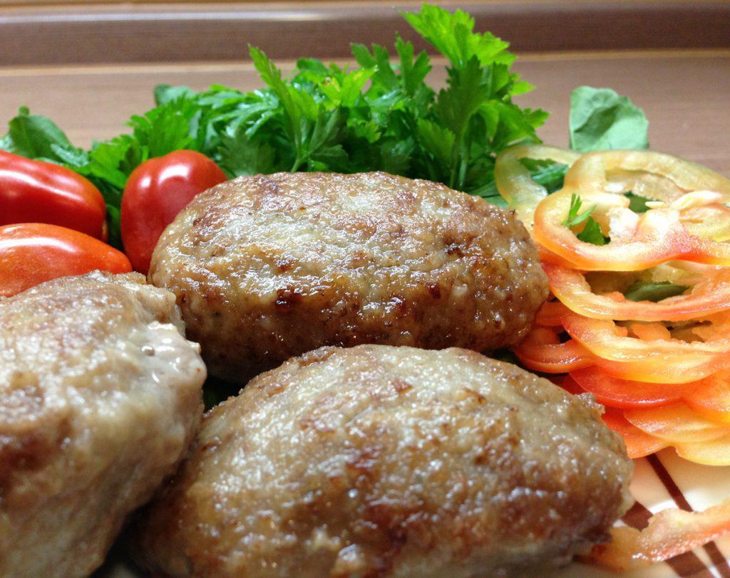 Котлеты из говяжьего мяса
