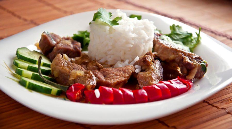 свинина по тайски
