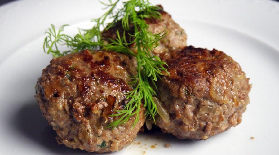 Постные котлеты из говяжьего мяса