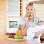 Питание кормящей мамы на первом году жизни ребёнка.