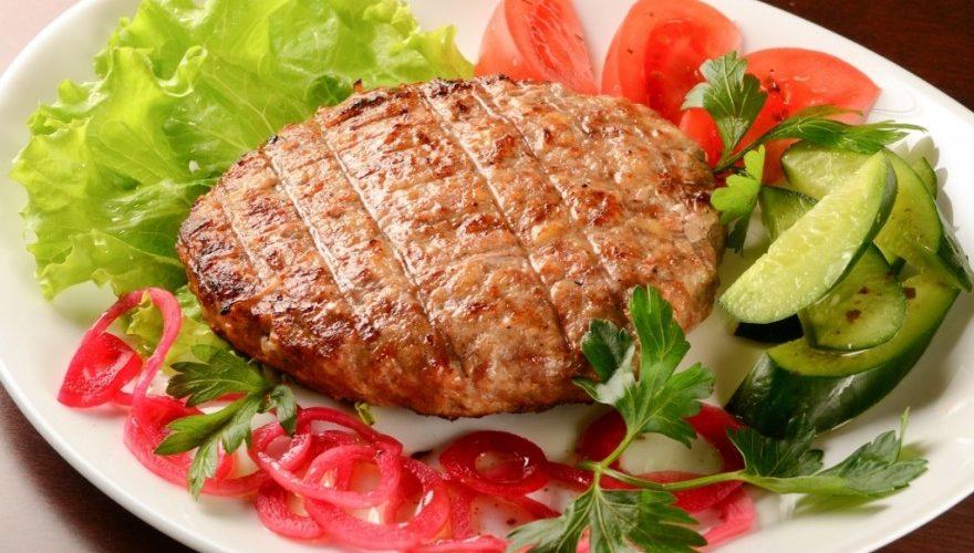 Бифштекс из соевого мяса