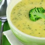 Сырный суп с брокколи. Рецепт пошагово.