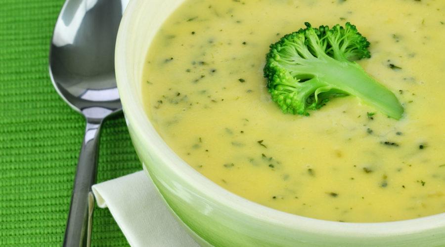Сырный суп с брокколи