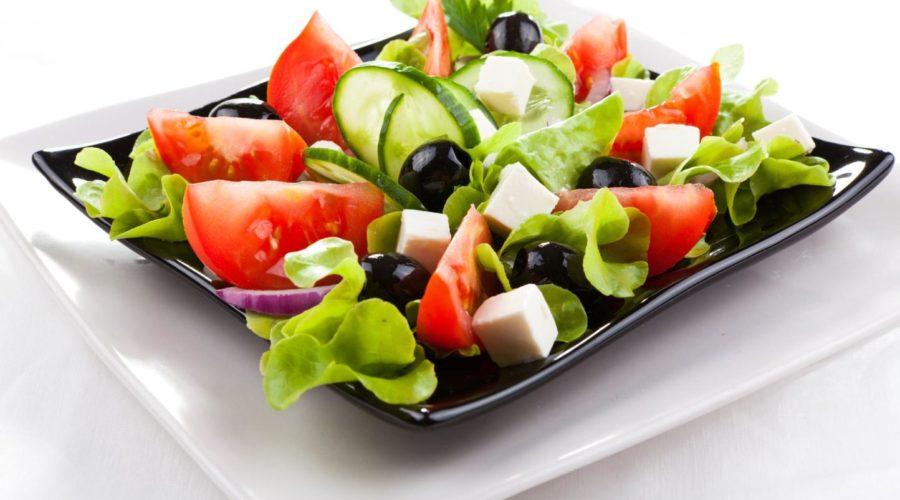 Греческий салат по дюкану