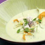 Кальмары — рецепт крем супа.