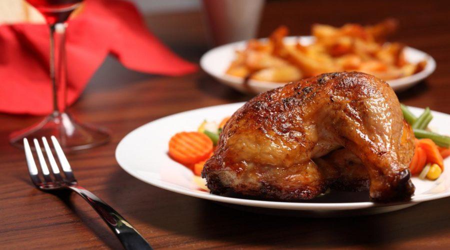 курица с имбирём