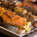 Рецепт шашлыка из лосося.
